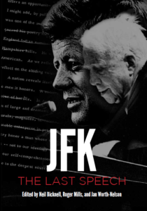 Book Cover JFK The Last Speech copy